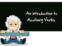 verbo auxiliar have