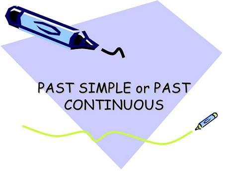 Past Simple y Past Continuous